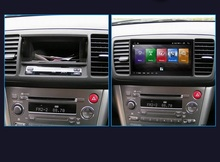 Autoradio Android 8.1, lecteur DVD, Navigation GPS, enregistreur cassette, pour Subaru Outback (2004 – 2006), pour Subaru Legacy (2004-2007)