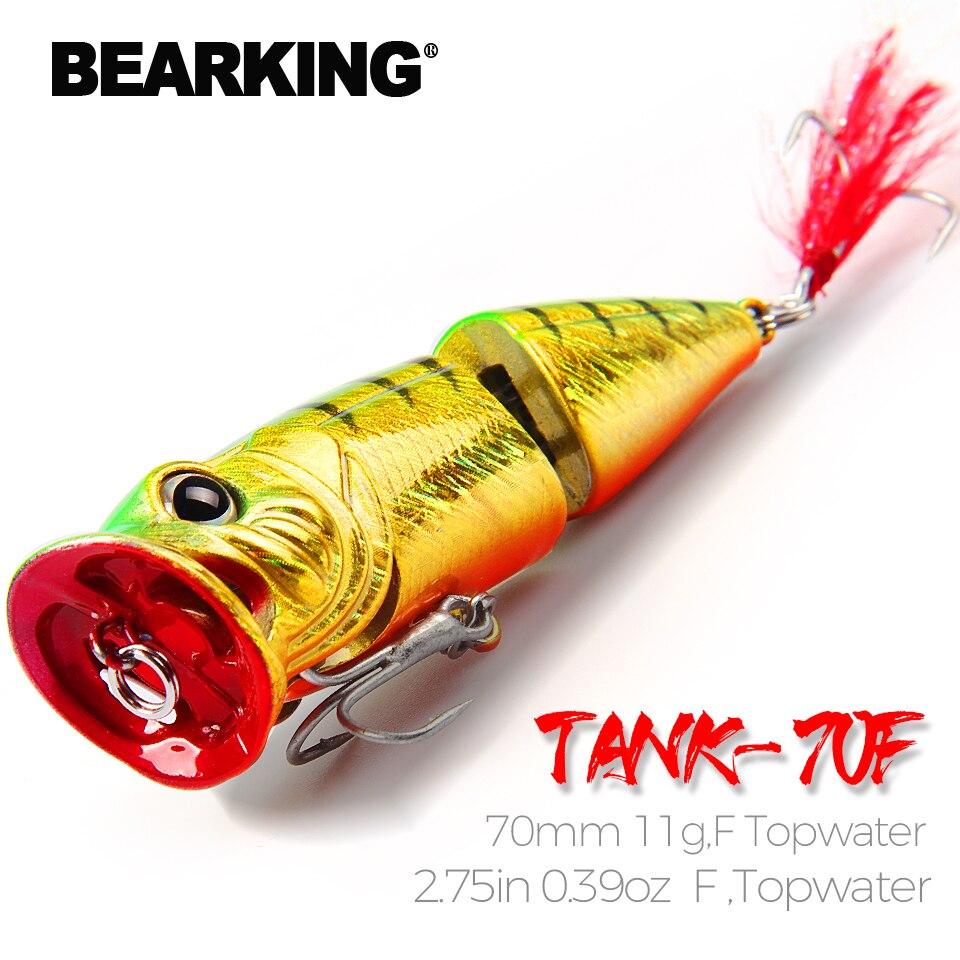 Bearking Retail  2017 good fishing lures minnow,bear king quality professional baits 70mm/11.5g,swimbait jointed bait Crankbait
