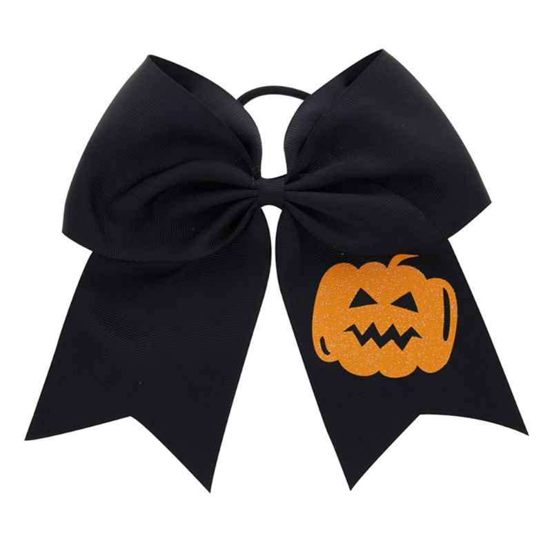 Children Girls Halloween Dress Up Hair Ring Funny Bats Big Bow-knots Modeling Kids Head Rope E65D
