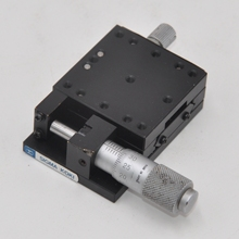 Y axis 40 * 40mm Sigma manual linear ball guide type fine adjustment slide table travel plus or minus 6.5mm steel
