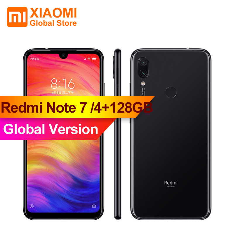 """Global Version XIAOMI Redmi Note 7 4GB RAM 128GB ROM S660 Octa Core 6.3"""" Smartphone 48MP + 5MP AI Dual Rear Camera Phone Note7-in Cellphones from Cellphones & Telecommunications    1"""