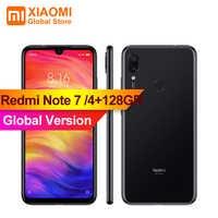 """Global Version XIAOMI Redmi Note 7 4GB RAM 128GB ROM S660 Octa Core 6.3"""" Smartphone 48MP + 5MP AI Dual Rear Camera Phone Note7"""