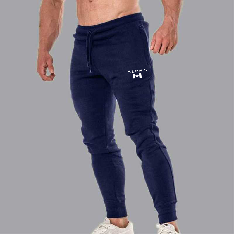 2020 Fashion Men Gyms Pants Joggers Fitness Casual Long Pants Men Workout Skinny Sweatpants Jogger Tracksuit Cotton Trousers