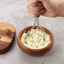 Presse-purée de pommes de terre en acier inoxydable, accessoires de cuisine, pâte à l'ail, presse-purée