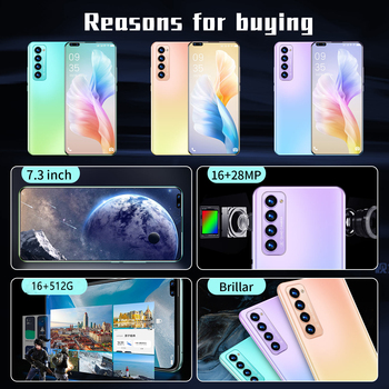 X2 PRO New Smartphone Global Unlocked Android 10.0 Smart Phone 7.3