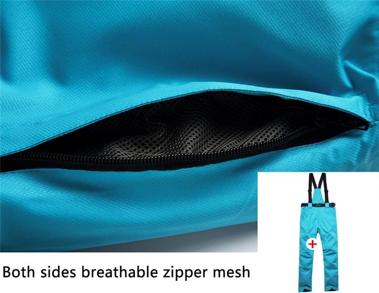 prova dthicken água engrossar trajes jaqueta de