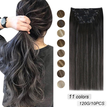 [Vollen Kopf Set] Ugeat Clip in Haar Extensions 14-22