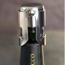 Rolha de garrafa de vinho em aço inoxidável, rolha de selagem portátil para garrafa de vinho, rolha de vinho, tampa de champanhe