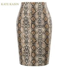 Kate Kasin Women's Sexy Snakeskin Hips-Wrapped Bod