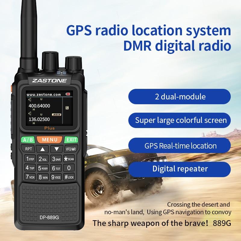 Talkie walkie DMR UHF/VHF 5W Radio bidirectionnelle DMR Double créneau horaire 999CH 3000mAh   AliExpress