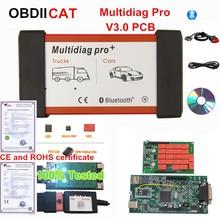 2017.1 متعددة الوظائف برو بلوتوث OBDIICAT tcs 2016.1/2015.R3 Keygen V3.0 NEC 9241A مزدوج أخضر PCB OBD2 سيارة شاحنة أداة تشخيصية