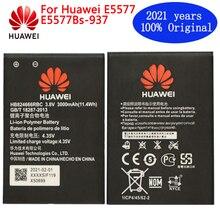 חדש huawei המקורי HB824666RBC סוללה עבור Huawei E5577 E5577Bs 937 החלפת Batteria אמיתי קיבולת טלפון 3000mAh סוללה