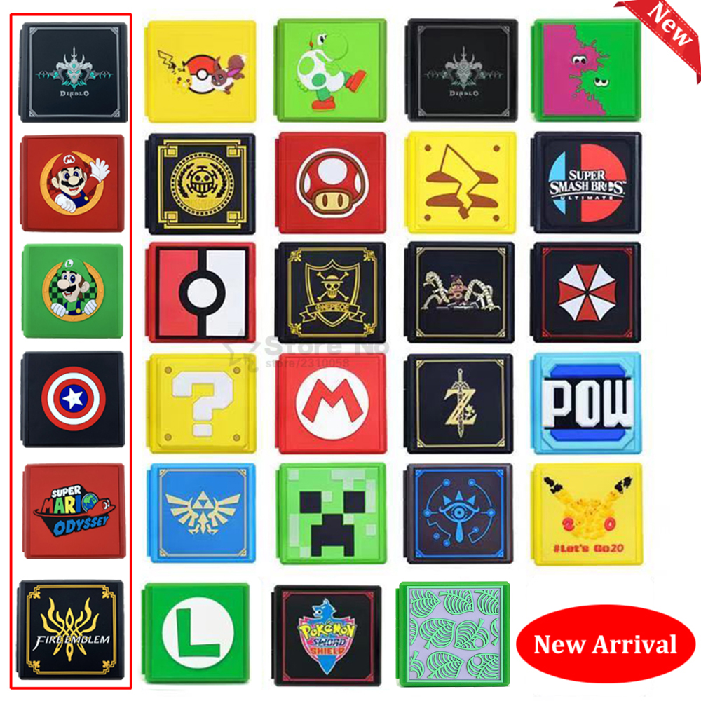 2020 New Game Cards Case For Nintend Switch Shockproof Hard Shell Storage Box For Switch Lite NS Accessories Game Card box