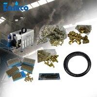 Sistema de nebulização do controle da poeira do bocal dos pces do sistema de refrigeração da névoa 120 nozzle misting fog cooling mist nozzle -