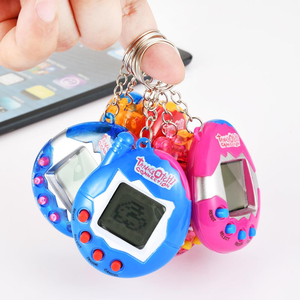 Popular Kid Toy Tamago Electronic Interactive Pets Toys Forkids 90S Nostalgic 49 Pets In One Virtual Cyber Pet Toy Funny Robot