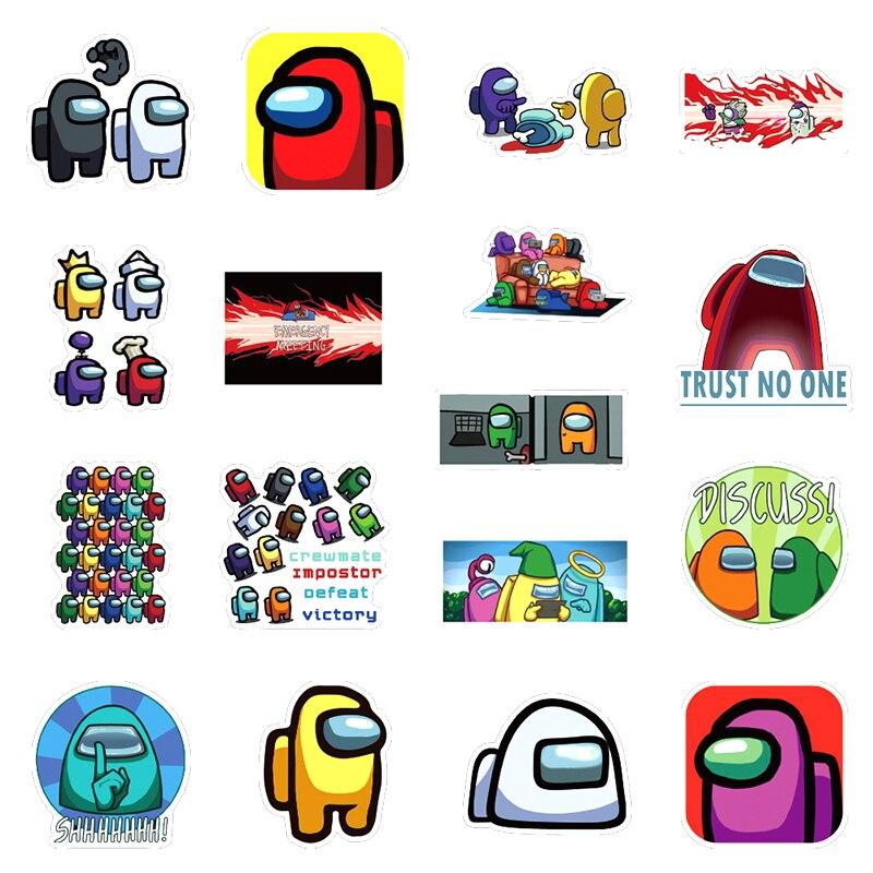 50 PCS NARUTO Sticker Pack Set Game DIY Imposter Decal QUALITY Stickers Graffi