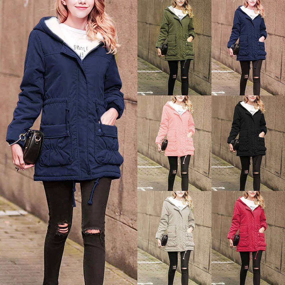 Kadın kış ceket sıcak kapüşonlu parka sonbahar kış askeri bayan aşağı ceket ceket kadın ceket giyim kadın ceket kış