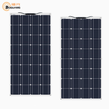 2pcs 100w 200 watt Solar Module charger solar Panel 12v or 24 Volt Solar cell china flexible Solpanel battery/yacht/RV/car/boat 100w solar panel cell module flexible 10a controller regulator for caravan rv boat yacht car home roof 12v battery power charger