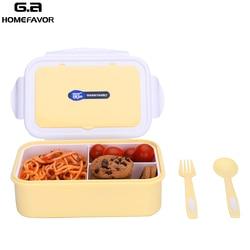 Mikrodalga yemek kabı için çocuk yiyecekleri sınıfı Bento kutusu gıda kapları sızdırmaz gıda saklama koruma taşınabilir kutusu yeni
