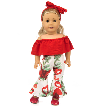 Hot Off shoulder Clothes fits for American18 girl doll alexander doll baby gift baby alexander