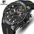 New Mens Watches CHEETAH Top Luxury Brand Chronograph Waterproof Quartz Watch for Men Date Sports Clock Male Relogio Masculino