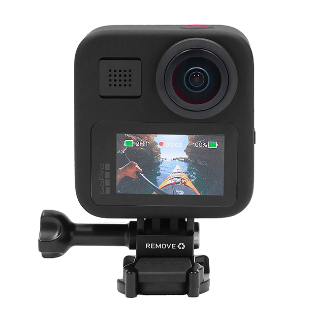 GoPro Max CHDHZ-201-RW 16.6 MP, Hero + 360 footage, 1080p Live Streaming, HyperSmooth and Superview, Action Camera Consumer Electronics color: Official Standard