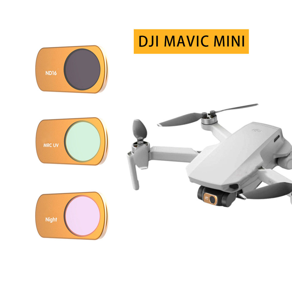 Drone Camera Lens Protector Filter UV Polarized CPL ND Dimming Lens For DJI Mavic Mini Drone Professional Filters Accessories