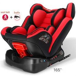 Einstellbar Kind Auto Sicherheit Sitz 0-12Y/9-36 kg Tragbare Baby Auto Sitz ISOFIX Harte Interface Fünf Punkt harness Kleinkind Auto Sitz