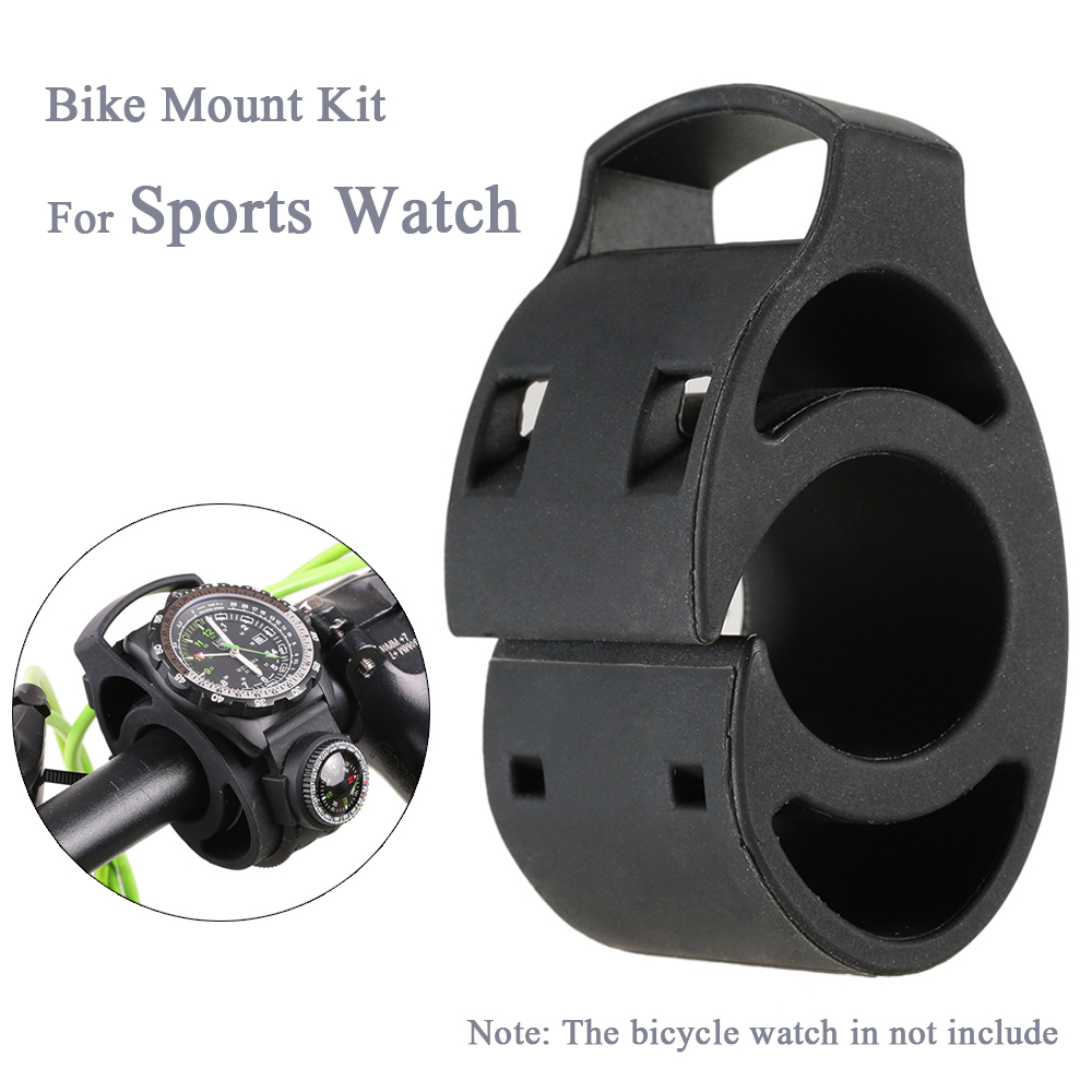 Bike Bicycle Handlebar Silicone Mount Holder Kit Watch Bike Mount Holder for Forerunner Garmin Fenix Sports Watch