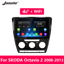 Jansite Android Car Radio for Skoda Octavia 2 A5 2008-2013 GPS navigation 4G Network WIFI audio player din Tuner