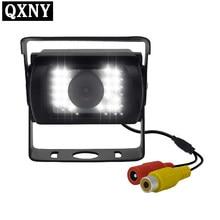 Veículo impermeável da visão noturna infravermelha pesada 24 do diodo emissor de luz da câmera traseira do caminhão para o caminhão/reboque/captador/rv qxny