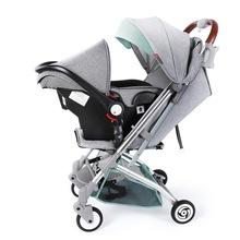 Wózek dziecięcy z dzieckiem fotelik samochodowy kosz na niemowlę dziecko samochód cochesitos de bebe kinderwagen coche bebe carro bebe carrinho bebe tanie tanio Ecoz CN (pochodzenie) 0-3 M 4-6 M 7-9 M 10-12 M 13-18 M 19-24 M 25kg Numer certyfikatu
