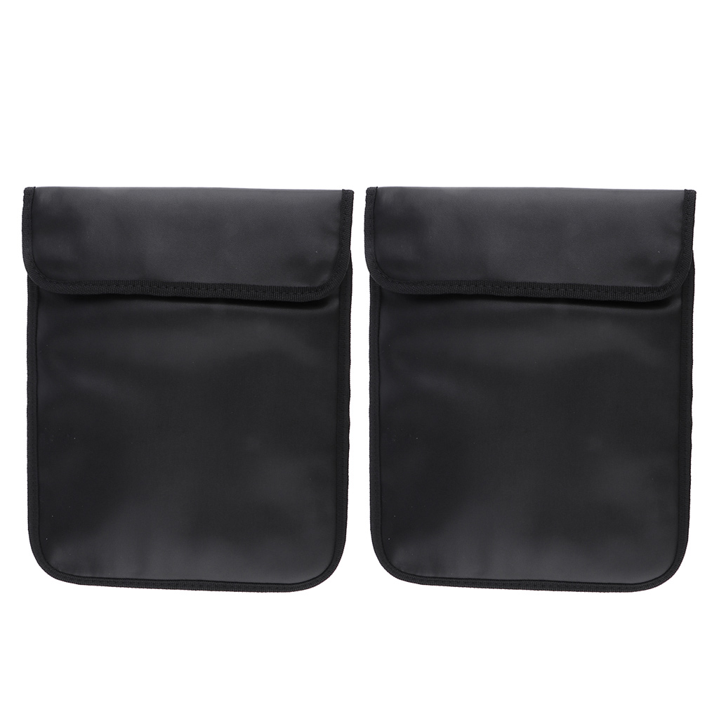 2x RFID Blocking Phones Tablets Pouch Anti-tracking Signal Blocker Car Security