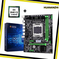 Материнская плата HUANANZHI X79 LGA2011  комбо-процессор для процессора Intel Xeon E5 2640 SROKR 2 5 ГГц  все Протестировано перед отправкой