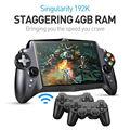 Особенность S192K 7 дюймов 1920X1200 quad core 4G/64GB геймпад 10000 мА/ч, планшетный ПК с системой андроида многопользовательский игровой консоли 18 симулято...