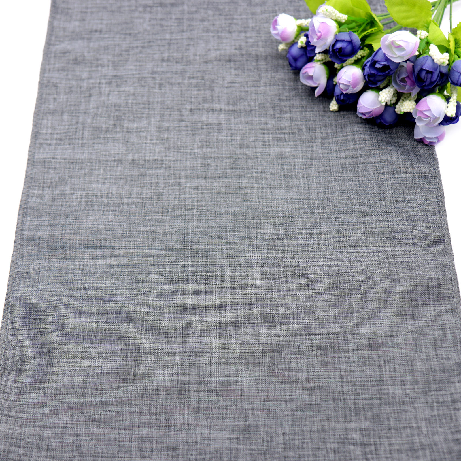 1pc NEW Gray Khaki Table Runner Imitation Linen Table Cloth Rustic Wedding Christmas Party Banquet Decoration For Dining Table