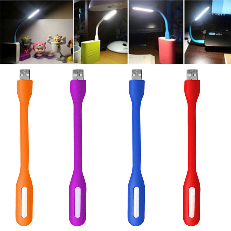 5V 1.2W USB LED Light Lamp Portable Flexible USB Interface Night Light Book Light For Mobile Power Bank PC Laptop USB