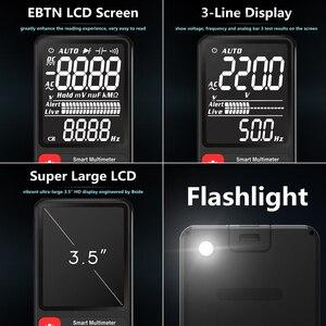 "Image 3 - BSIDE Digital Multimeter Ultra Portable 3.5""LCD Display DC AC Voltmeter Analogue Tester DIY meter Capacitance NCV Ohm Hz tester"