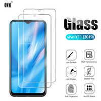 2 uds vidrio templado para vivo Y11 2019 Protector de pantalla vidrio templado para vivo Y11 2019 película protectora