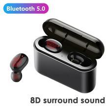 True Wireless Earbuds Bluetooth Earphone Handfree Earphones TWS Wireless Headpho