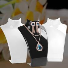 2019 Hot Sales Jewelry Necklace Earrings Plastic Mannequin Bust Display Stand Organizer Holder Necklace/Jewelry Rack Org