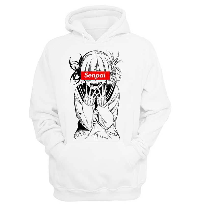 Male boku no hero academia hoodie Senpai Anime Hoodies Sweatshirts Japanese Amine Waifu Hoodie Men Girl Harajuku Hoody Women