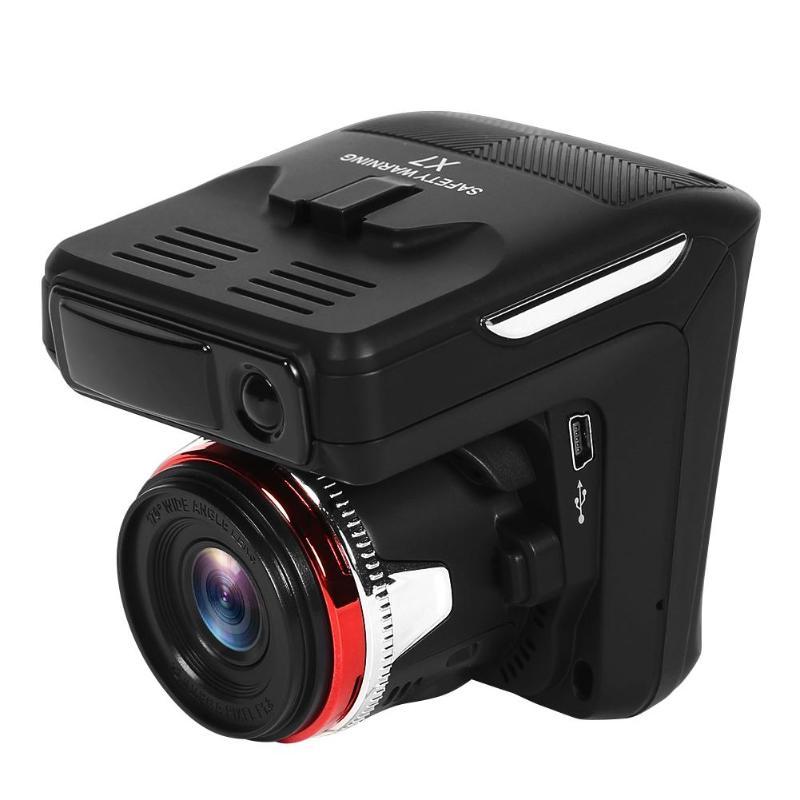 X7 Full HD 1080p Автомобильный видеорегистратор камера радар детектор 140 объектив СВЕТОДИОДНЫЙ usb прикуриватель с присоской 30 кадров цифровой вид