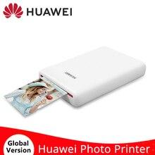 HUAWEI AR طابعة صور صغيرة محمولة بحجم الجيب CV80 313*490 DPI طابعة بلوتوث لاسلكية 4.1 لتقوم بها بنفسك للهواتف المحمولة التي تعمل بنظام أندرويد و iOS