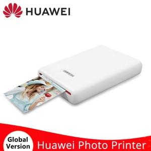 Image 1 - HUAWEI AR Mini imprimante Photo de poche Portable CV80 313*490 DPI sans fil Bluetooth 4.1 imprimante bricolage pour téléphone Mobile Android et iOS