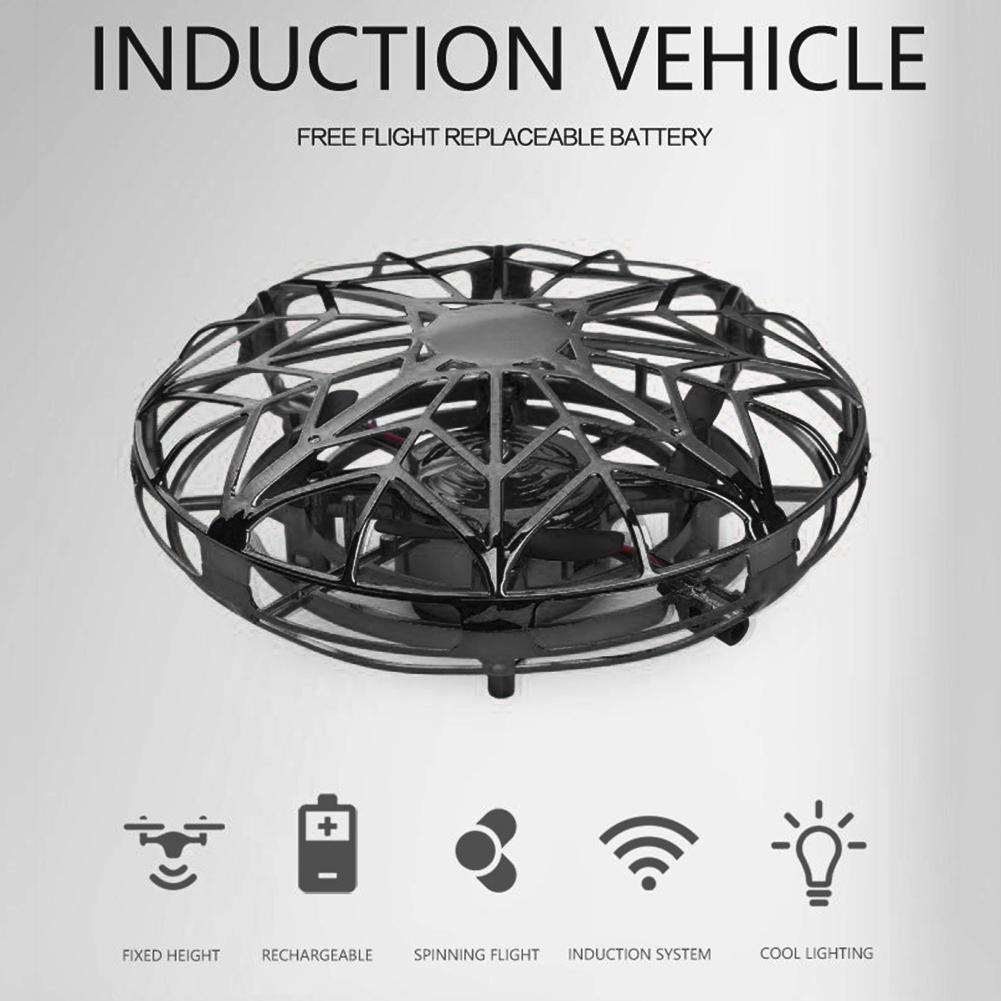 4-Axis Mini Flying Drone Infrared Gesture Induction Helicopter Aircraft Kids Educational Toys For Children Gift
