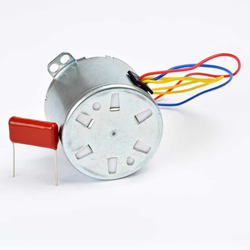 Синхронный двигатель 2,5 об/мин 8 Вт 50-KTYZ AC 220 В постоянный магнит синхронный мотор-редуктор маленький мотор