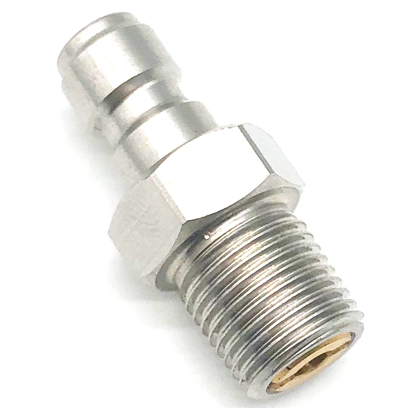 PCP Paintball Stainless Steel HPA/N2 One Way Foster Valve 1/8NPT Thread