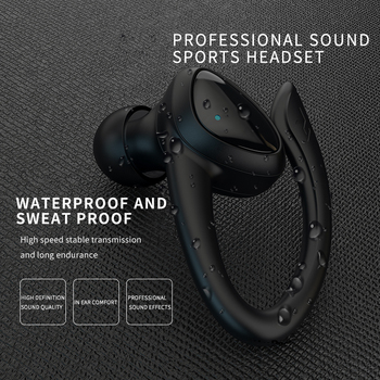 TWS Bluetooth 5.0 Earphones With Charging Box Wireless Headphone 9D Stereo Sports Waterproof Earbuds Headsets With Microphone 5