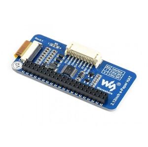 Image 3 - 2.13inch E Ink Display HAT 212x104 E paper Module for Raspberry Pi 2B/3B/Zero/Zero W Red Black White Three color SPI Interface